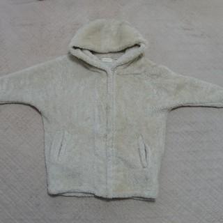 レピピアルマリオ(repipi armario)のレピピアルマリオ ふわもこフード付きジャケット Sサイズ(150~160㎝)(ジャケット/上着)