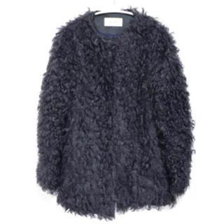 ドゥーズィエムクラス(DEUXIEME CLASSE)のDES PRES  フェイクファージャケットコート(毛皮/ファーコート)