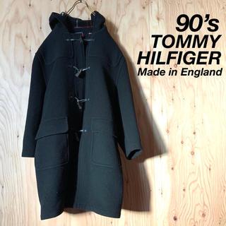 トミーヒルフィガー(TOMMY HILFIGER)の【美品】90's TOMMY HILFIGER イングランド製 ダッフルコート(ダッフルコート)
