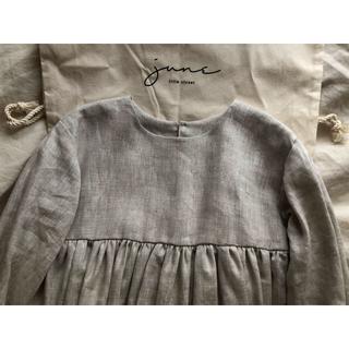 Caramel baby&child  - june little closet ギャザーワンピース 100