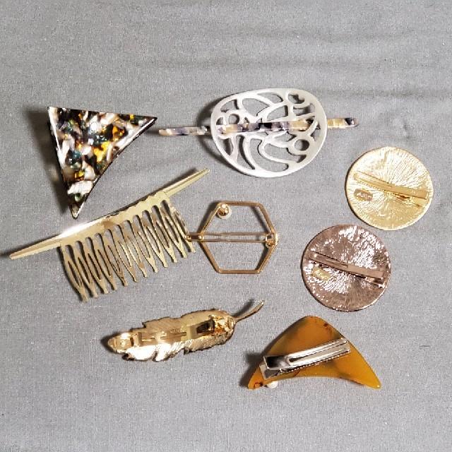 Ane Mone(アネモネ)のAne Mone 等 ヘアアクセサリーセット レディースのヘアアクセサリー(バレッタ/ヘアクリップ)の商品写真
