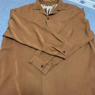 ウィゴー(WEGO)のメンズ オープンカラーシャツ 長袖(Tシャツ/カットソー(七分/長袖))