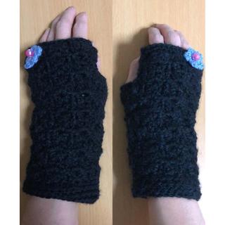 【専用です】手編みハンドウォーマー(手袋)