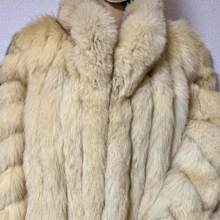 大人気・ブルーフォックス毛皮 1,,(毛皮/ファーコート)