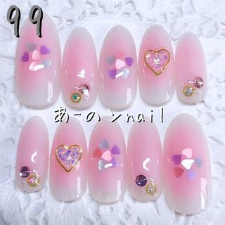 送料&カラー変更1色無料«99»ジェルネイルチップ♡*゜(つけ爪/ネイルチップ)