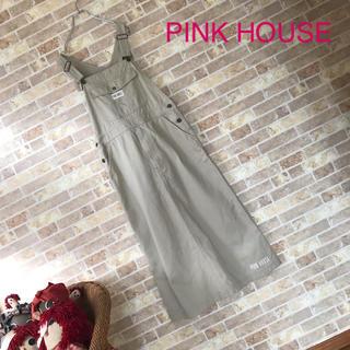 PINK HOUSE - PINK HOUSE ジャンパースカート