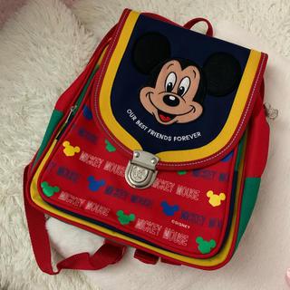 Disney - ディズニー ❤︎ ミッキー レトロ風 リュック