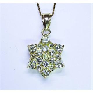 最終価格※天然ダイヤモンド計1.00ct星型デザインペンダントネックレス(ネックレス)