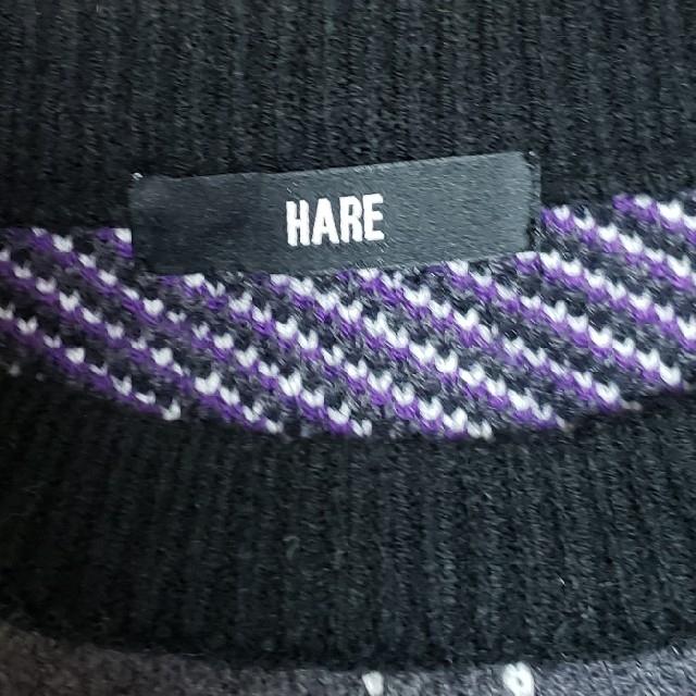 HARE(ハレ)の今季AW商品 Hare アーガイルニットプルオーバー メンズのトップス(ニット/セーター)の商品写真