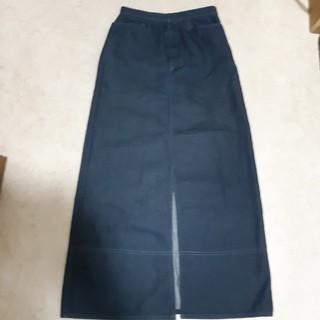 コムサイズム(COMME CA ISM)のCOMME  CA ISM  のデニム調タイトロングスカート♡(ロングスカート)
