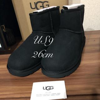 アグ(UGG)の最新UGG🌷ムートンブーツクラシックミニII 26cm 正規品(ブーツ)