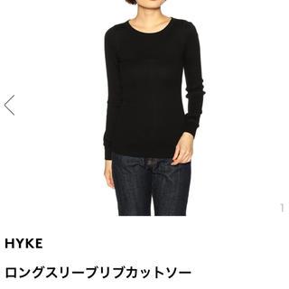 ハイク(HYKE)のHYKE ロングスリーブリブカットソー(カットソー(長袖/七分))