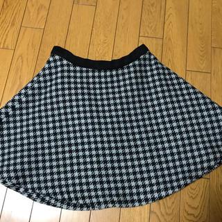 ティティアンドコー(titty&co)のtitty&co冬物フレアスカート、本日5%クーポン(ひざ丈スカート)