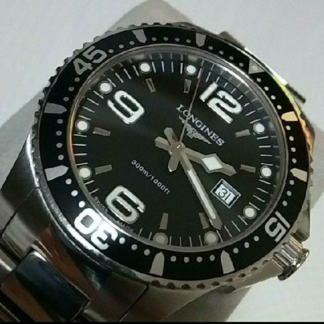 ロレックス スーパー コピー 時計 一番人気 | LONGINES - 300m防水 ロンジン ハイドロ コンクエストの通販