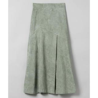 ジーナシス(JEANASIS)のタグあり 未使用♡レザーライクキリカエスカート(ロングスカート)