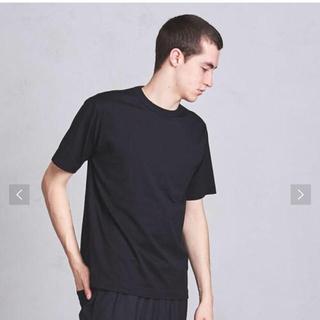 ユナイテッドアローズ(UNITED ARROWS)のユナイテッドアローの黒TシャツXS(Tシャツ/カットソー(半袖/袖なし))
