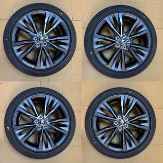トヨタ - 【新車外し】新型カローラツーリング  W×B 純正17インチホイール【超美品】