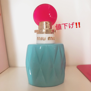 miumiu - 【箱付き美品】miumiu オードパルファム 50ml