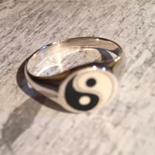 陰陽 インヤン シルバー925 リング  24号 魔力 御守り お守り 銀 指輪(リング(指輪))