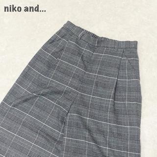 ニコアンド(niko and...)の【niko and...】チェックパンツ ニコアンド(その他)
