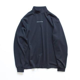 サンシー(SUNSEA)のstein OVERSIZED HIGH NECK LS DARK NAVY S(Tシャツ/カットソー(七分/長袖))