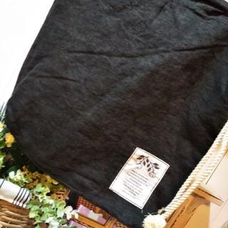 サマンサモスモス(SM2)のSM2サマンサモスモス テレデラン リネン ロープショルダーバッグ新品ブラック(ショルダーバッグ)