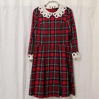 JaneMarple - ジェーンマープル タータンチェック ワンピース ドレス