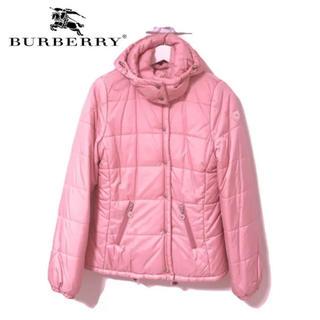 バーバリー(BURBERRY)のBurberry バーバリー ダウンジャケット ピンク コート レディース(ダウンジャケット)