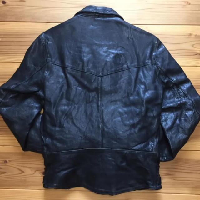Lewis Leathers(ルイスレザー)のbobo leathers 70sOLDライダース 高円寺サファリ Safari メンズのジャケット/アウター(レザージャケット)の商品写真