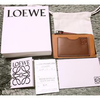 LOEWE - LOEWE コインカードホルダーラージ