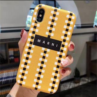 マルニ(Marni)のiPhonexsケース MARNI マルニ風(iPhoneケース)