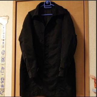 アオキ(AOKI)の期間限定価格!!ビジネス コート 黒(ステンカラーコート)