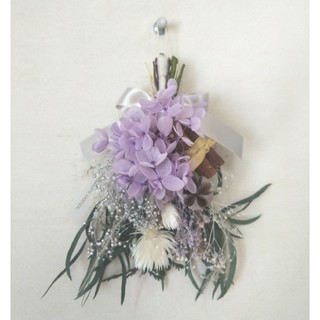 Christmas mini swag(natural lavender)(ドライフラワー)