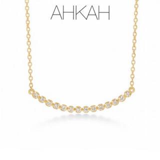 AHKAH - 【AHKAH】K18YGビリーブユー ネックレス ロング/0.1