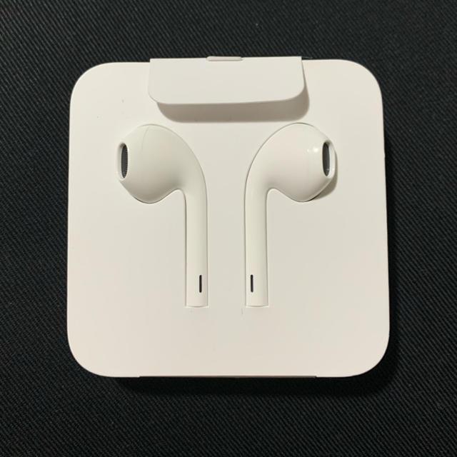iPhone(アイフォーン)のiPhone 純正イヤホン(未使用) スマホ/家電/カメラのオーディオ機器(ヘッドフォン/イヤフォン)の商品写真