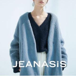 ジーナシス(JEANASIS)のJEANASIS  ノーカラーファーコート(毛皮/ファーコート)