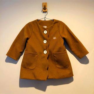 シマムラ(しまむら)のバースデイ BABY95size スカラップデザインコート (コート)