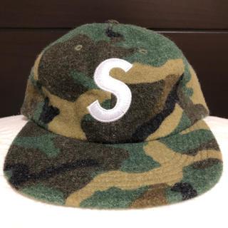 シュプリーム(Supreme)のSupreme WOOL S LOGO 6-PANEL CAP(キャップ)