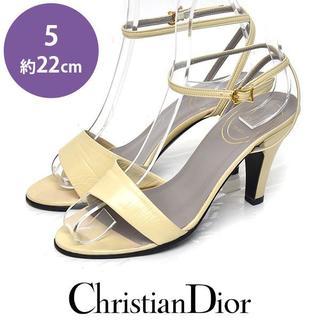 Christian Dior - クリスチャンディオール ストラップ サンダル 5(約22cm)