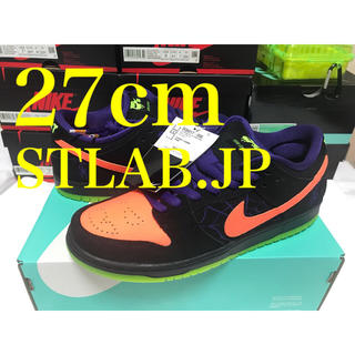 ナイキ(NIKE)の27cm NIKE SB DUNK LOW NIGHT OF MISCHIEF(スニーカー)