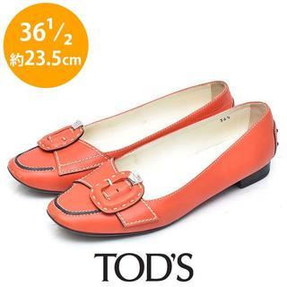 トッズ(TOD'S)のトッズ ベルト ステッチ パンプス 36 1/2(約23.5cm)(ハイヒール/パンプス)