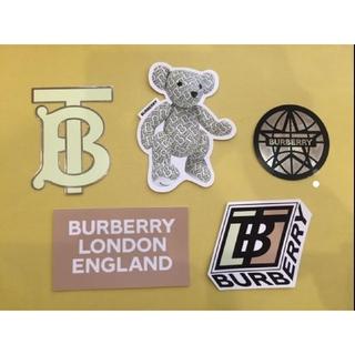 バーバリー(BURBERRY)のBurberry 限定 ステッカー バーバリー リカルド ティッシ ノベルティ(ノベルティグッズ)