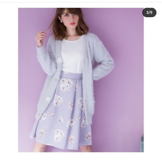 トッコ(tocco)の花柄スカート(ひざ丈スカート)