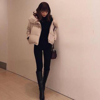 リエンダ(rienda)のrienda♡Volume Back Tail Short Down Coat(ダウンコート)