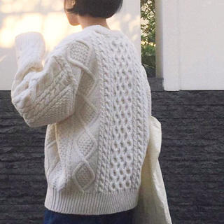 ロキエ(Lochie)のvintage wool knit(ニット/セーター)