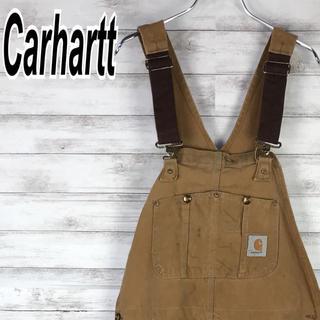 カーハート(carhartt)のカーハート オーバーオール サロペット ダブルニー ビンテージ オーバーサイズ(サロペット/オーバーオール)