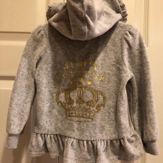 Juicy Couture(ジューシークチュール)のジューシークチュール セットアップ 18M キッズ/ベビー/マタニティのベビー服(~85cm)(その他)の商品写真