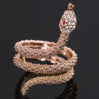 新品◆ぐるぐるヘビのリング① ゴールド(リング(指輪))