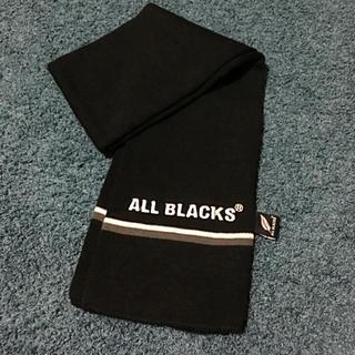 ALL BLACKS ニットマフラー★ ラグビー