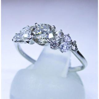 天然ダイヤモンド計0.7ctUPデザインリング(指輪)(リング(指輪))